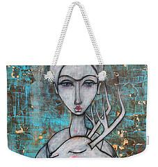 Deer Frida Weekender Tote Bag by Natalie Briney