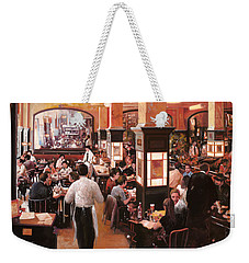 Dentro Il Caffe Weekender Tote Bag by Guido Borelli