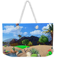 Desert Splendor Weekender Tote Bag by Snake Jagger