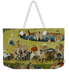 Detail From The Central Panel Of The Garden Of Earthly Delights Weekender Tote Bag by Hieronymus Bosch