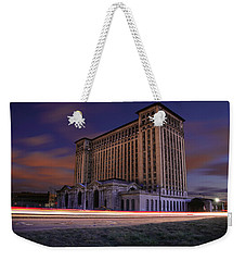 Detroit's Abandoned Michigan Central Station Weekender Tote Bag by Gordon Dean II