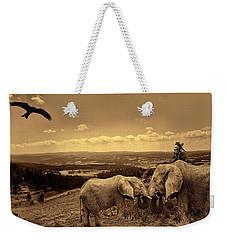 Dignified Rank Weekender Tote Bag by Lourry Legarde
