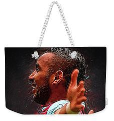Dimitri Payet Weekender Tote Bag by Semih Yurdabak
