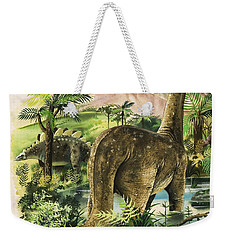 Dinosaurs Weekender Tote Bag by English School