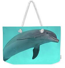 Dolphin Weekender Tote Bag by Sandy Keeton
