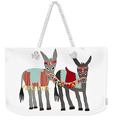 Donkeys Weekender Tote Bag by Isoebl Barber