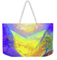 Dove Valley Weekender Tote Bag by Jane Small