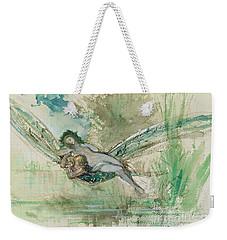 Dragonfly Weekender Tote Bag by Gustave Moreau