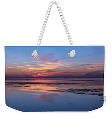 Weekender Tote Bag featuring the photograph Draw The Line by Thierry Bouriat