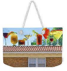 Drinks On The House Weekender Tote Bag by Nikolyn McDonald