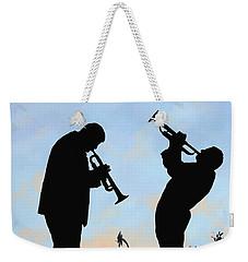 duo Weekender Tote Bag by Guido Borelli