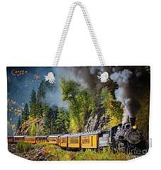 Durango-silverton Narrow Gauge Railroad Weekender Tote Bag by Inge Johnsson