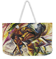 Dynamism Of A Cyclist Weekender Tote Bag by Umberto Boccioni