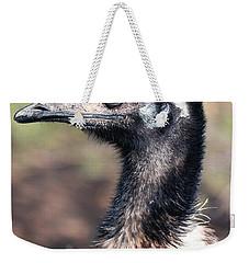 Earnest Emu Weekender Tote Bag by Lisa S Baker