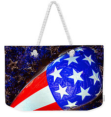 Easy Rider Movie Poster A Weekender Tote Bag by David Lee Thompson