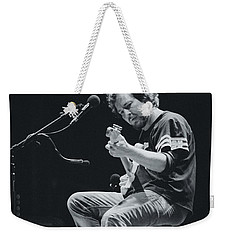 Eddie Vedder Playing Live Weekender Tote Bag by Marco Oliveira