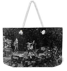 Eddie Vedder Rock God Pose Pearl Jam Weekender Tote Bag by Toby McGuire