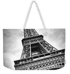 Eiffel Tower Dynamic Weekender Tote Bag by Melanie Viola