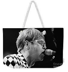 Elton John-0143 Weekender Tote Bag by Gary Gingrich Galleries