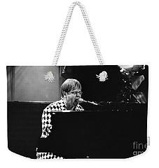 Elton John-0147 Weekender Tote Bag by Gary Gingrich Galleries