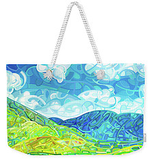 Emerald Moments Weekender Tote Bag by Mandy Budan