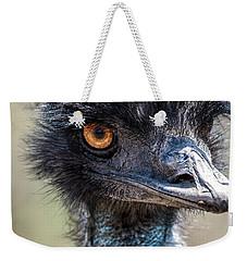 Emu Eyes Weekender Tote Bag by Paul Freidlund