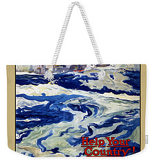 Enlist In The Navy - For Liberty's Sake Weekender Tote Bag by War Is Hell Store