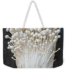 Enoki Mushrooms Weekender Tote Bag by Elena Elisseeva