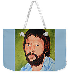 Eric Clapton Weekender Tote Bag by Neil Feigeles