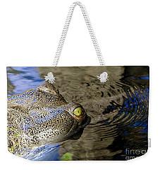 Eye Of The Crocodile Weekender Tote Bag by David Lee Thompson