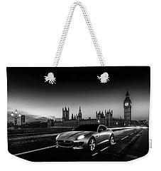 F-type In London Weekender Tote Bag by Mark Rogan