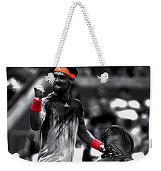 Fabio Fognini Weekender Tote Bag by Brian Reaves