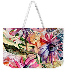Fairy Land Weekender Tote Bag by Mindy Newman