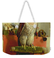 Falcon Weekender Tote Bag by Sir Edwin Landseer