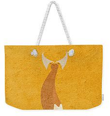 Fantastic Mr. Fox Weekender Tote Bag by Ayse Deniz