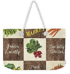 Farmer's Market Patch Weekender Tote Bag by Debbie DeWitt