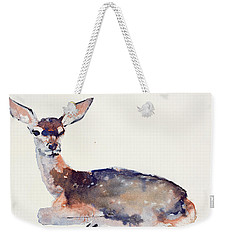 Fawn Weekender Tote Bag by Mark Adlington