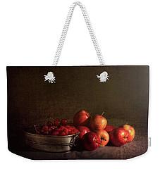 Feast Of Fruits Weekender Tote Bag by Tom Mc Nemar