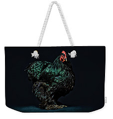 Feathers Weekender Tote Bag by John Towner