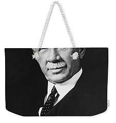 Federal Reserve Banker Weekender Tote Bag by Underwood Archives