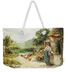 Feeding Time Weekender Tote Bag by Ernest Walbourn