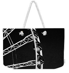 Ferris Wheel At Navy Pier, Chicago No. 1-2 Weekender Tote Bag by Sandy Taylor