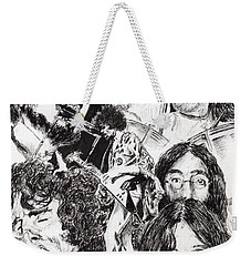 Festival Icons Weekender Tote Bag by Vincent Alexander Booth