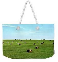 Fields Of Green Weekender Tote Bag by Mark Mickelsen
