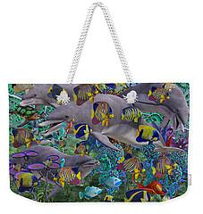 Find The Sea Dragon Weekender Tote Bag by Betsy Knapp