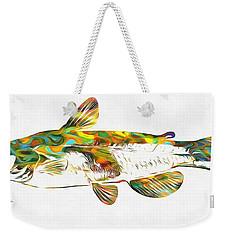 Fish Art Catfish Weekender Tote Bag by Dan Sproul