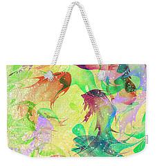 Fish Dreams Weekender Tote Bag by Rachel Christine Nowicki