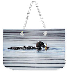 Fish For Lunch Weekender Tote Bag by Bill Wakeley