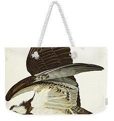 Fish Hawk Weekender Tote Bag by John James Audubon