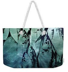 Fish Pattern Weekender Tote Bag by Tom Gowanlock
